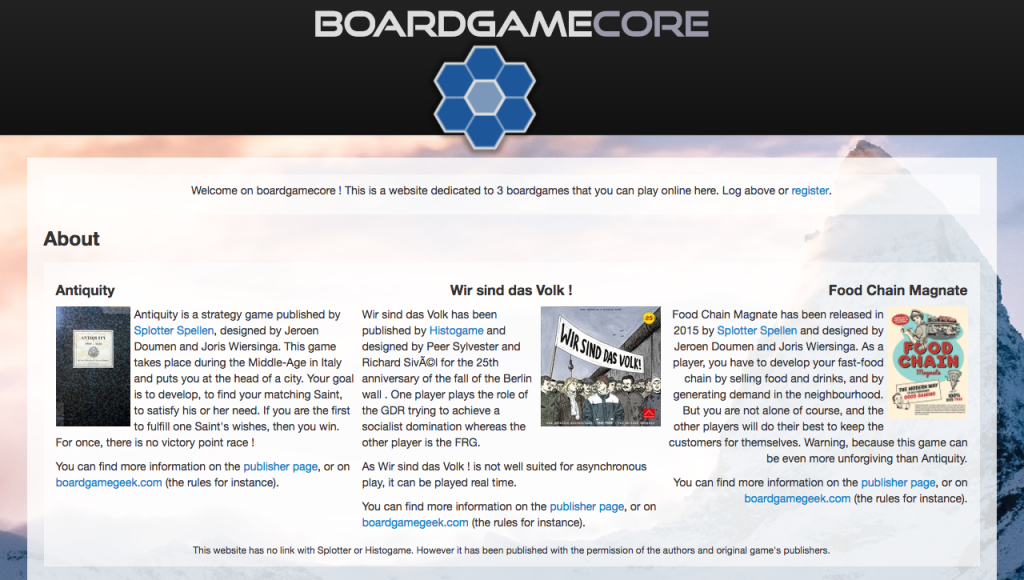 Online Board Game