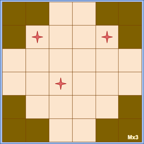 Randomized Game Board Tile Example