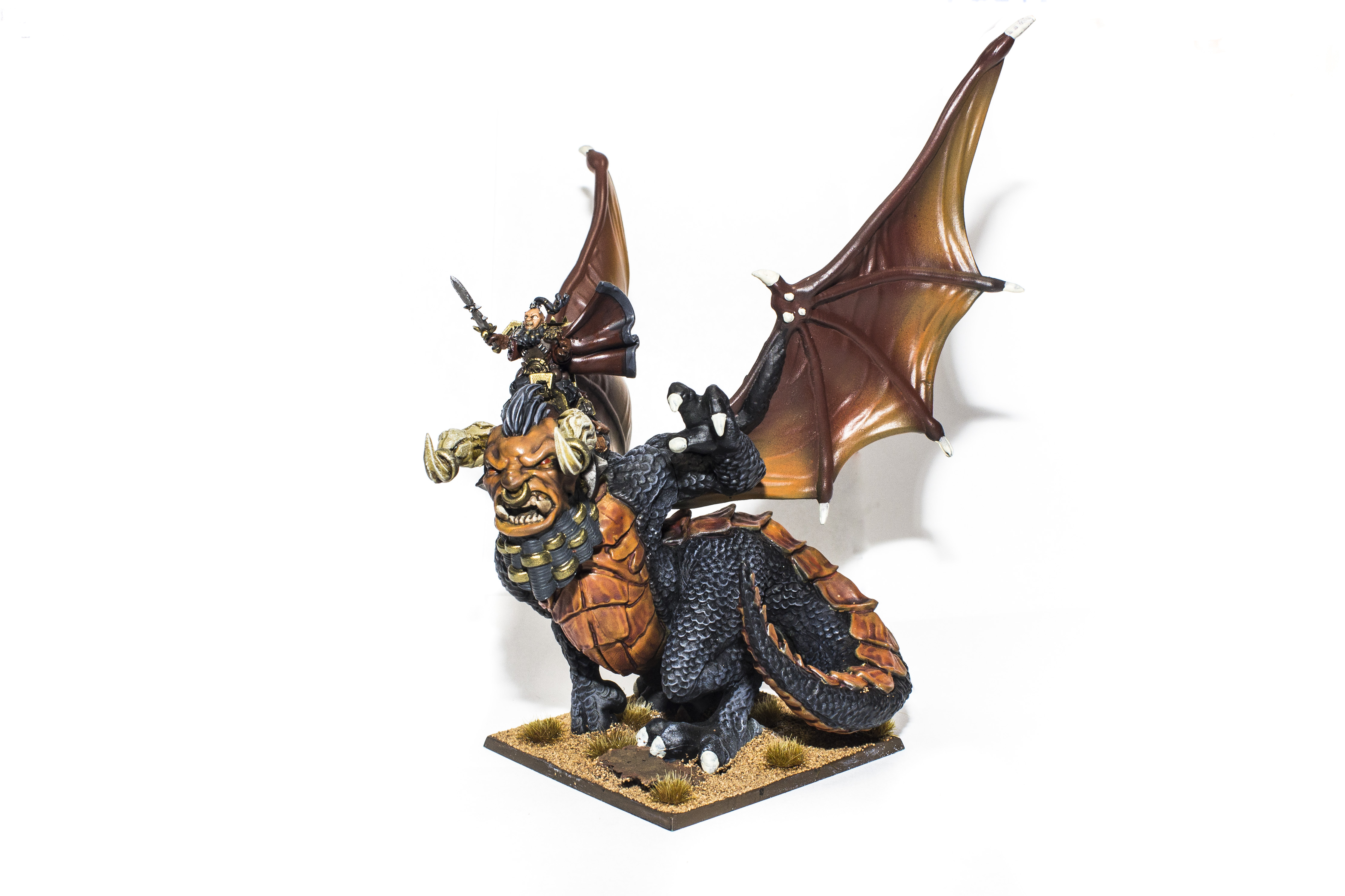 Abyssal_Dwarves_Supreme_Iron_Caster_On_Great_Winged_Halfbreed