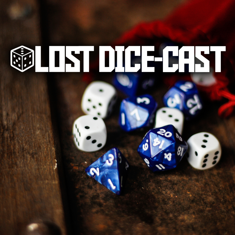 Lost Dice-Cast Cover Art
