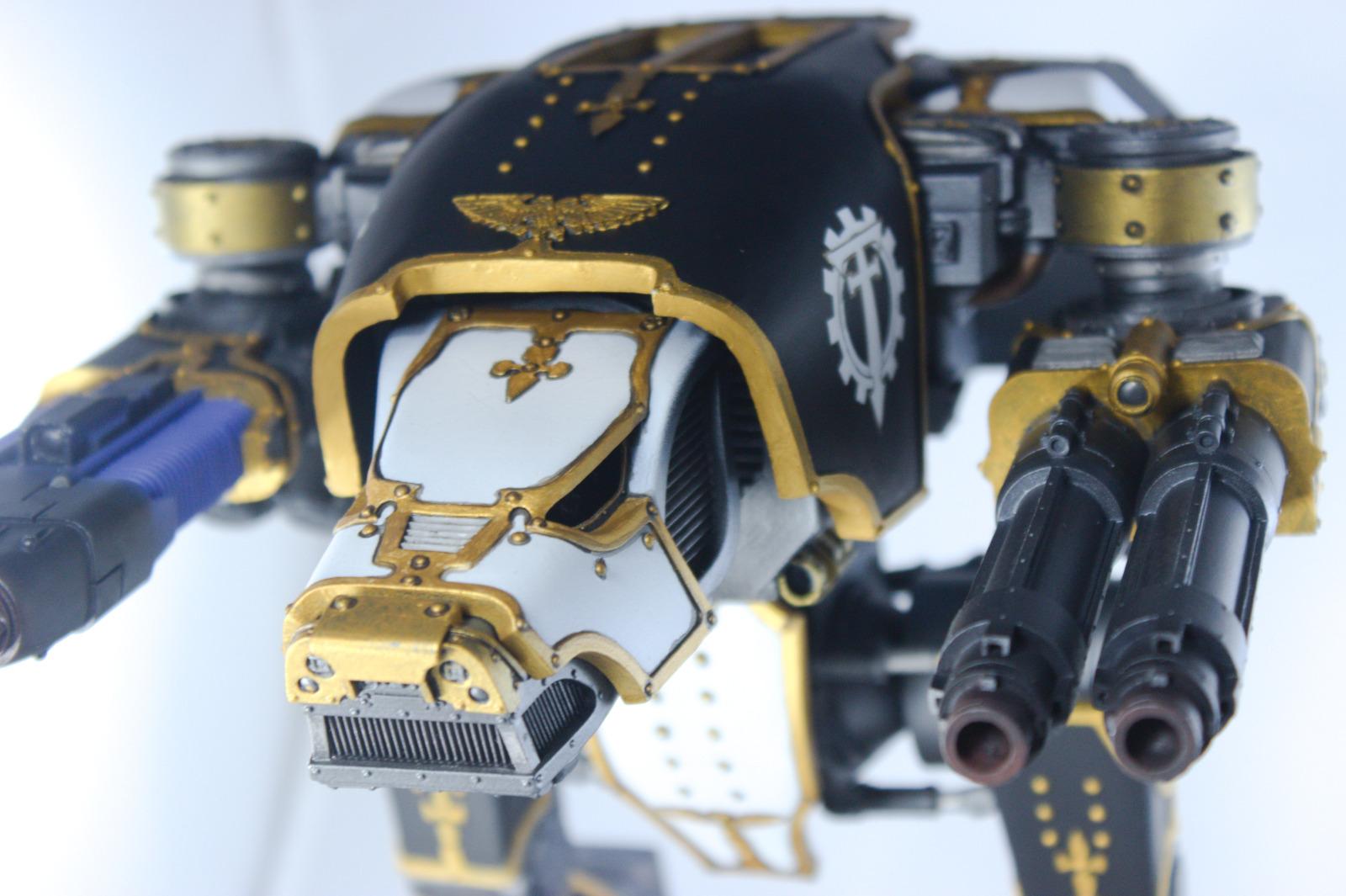 Warhammer 40k Warhound Titan Legio Crucius